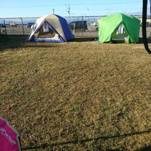 後始末からのキャンプ!