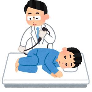 人工股関節で大腸カメラを受ける