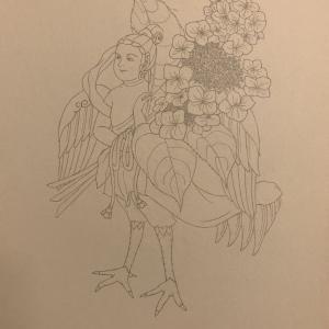迦陵頻伽■こんなの描いてました(7)