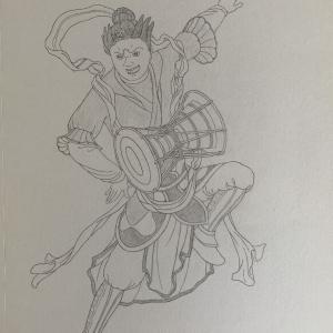 緊那羅王■こんなの描いてました(12)