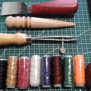 革制作に必要な道具を買うよ!