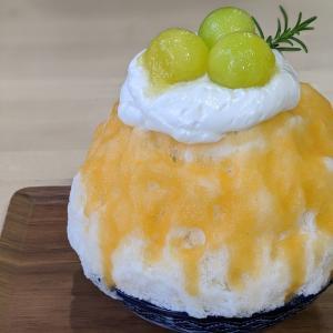 かき氷SANGO(所沢市)のふわふわかき氷メロンミルクに感動 エスプーマって何?