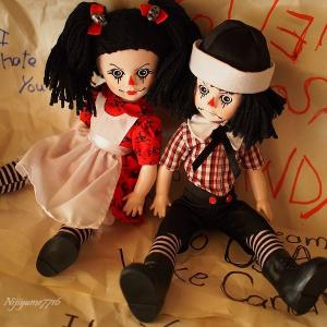 Living Dead Dolls  ROTTEN SAM& SANDY