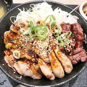 肉の共演がエキサイティングな肉丼専門店