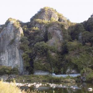 青の洞門から耶馬渓ダムへ