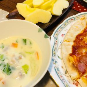 小麦粉で作る豆乳シチュー。常識を無視した手抜きレシピ☆