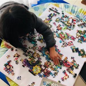 パズルに夢中!子供もできるディズニー1000ピース