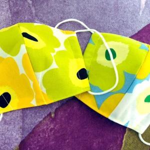 子供用もオシャレ可愛く☆マリメッコの手作りマスク