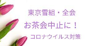 決定!雪組お茶会中止・望海会はじめ全会で「ONCE UPON A TIME IN AMERICA」東京公演