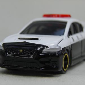 トミカ イオン限定 スバル WRX Sti TypeS 日本警察仕様