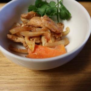 【ヘルシオまかせて調理レシピ①】ご飯がすすむ、鶏のケチャップ炒め