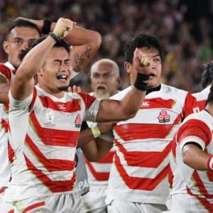 'We have to learn from this' – Japan knock Scotland out of Rugby World Cup – Live – BBC Sport