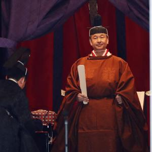 Emperor Naruhito enthronement in Japan today sees him ascend Chrysanthemum Throne – CBS News
