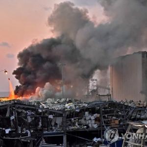 ベイルートでの爆発 死者78人、負傷者4000人超