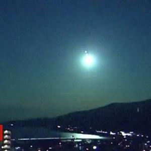 Like a full moon: 2nd fireball since July 2 dazzles Japan's skies : The Asahi Shimbun