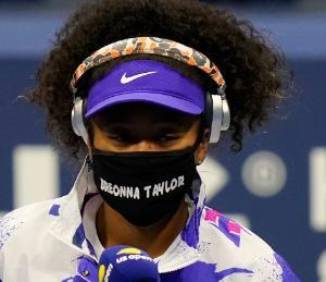 ★These were the Black victims Naomi Osaka honored on face masks at the US Open