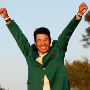★Matsuyama wins the Masters