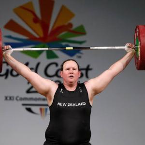 ★Kiwi weightlifter breaks silence