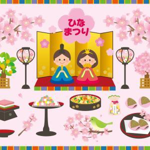 ひな祭りのイベントに使えるイラストはフリー素材からお得に選ぼう!