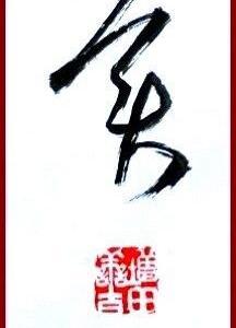 一字書(美)/漢字条幅部(楷書)課題/漢字条幅随意部参考。