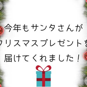 今年もサンタさんがクリスマスプレゼントを届けてくれました!