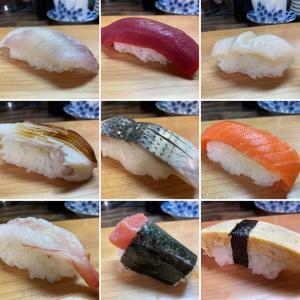 自由市場で寿司ランチ