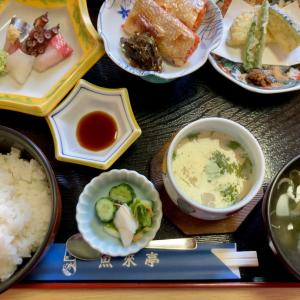 魚来亭で日替り定食