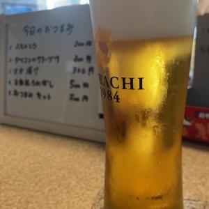 葛城商店でビール