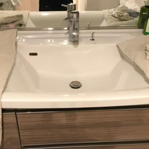 【三男】洗面台で沐浴