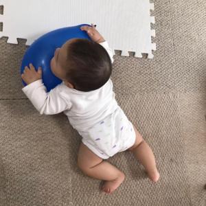 【三男 0歳5ケ月】お座りできた!