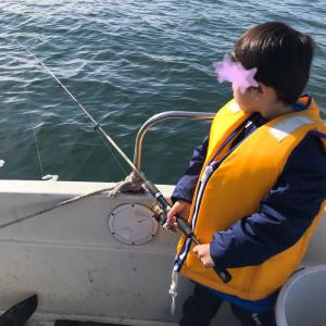 【長男4歳】魚を釣りたい!