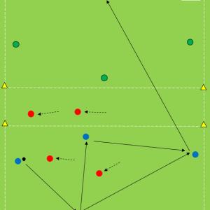 Tr74) 4対2+4対2(安定しながら前進)
