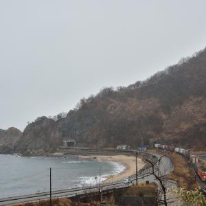 羽越本線 今川にて撮影