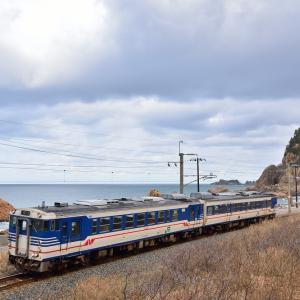 羽越キハ40-560 & 海里