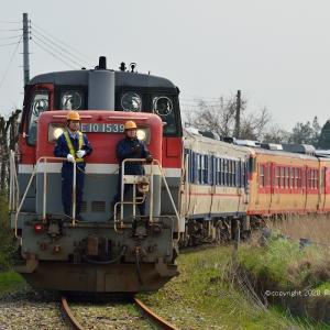 9685レ キハ47/48海外譲渡 (黒山その2)