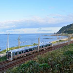 羽越本線 笹川流れ 10月18日撮影
