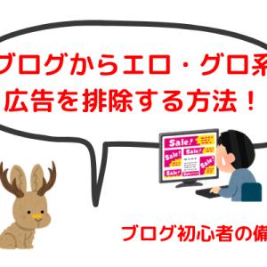 【エログロ広告消去】自分のサイトに表示されるアドセンス広告を消す方法