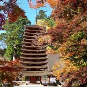 談山神社(桜井市)の紅葉🍁を見に行ってきました🎵