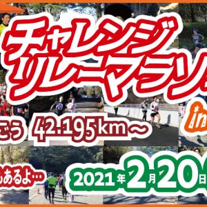 【次回出場レース】第8回 チャレンジリレーマラソン in子供の国