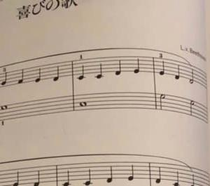 去年の今頃の練習曲