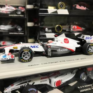 Sauber C30 ChinaGP(2011) Kamui Kobayashi