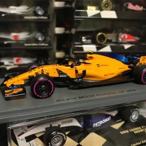 MCL33 Australian GP(2018) Stoffel Vandoorne