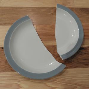 アフタヌーンティのお皿