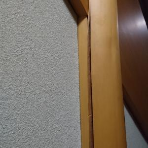 割れた柱の補修
