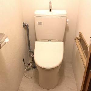 トイレを新品に交換しました!
