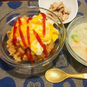 介護食レシピ:これは楽ちん!炊飯器で作るオムライス。