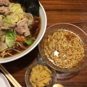 介護食レシピ:野菜たっぷり醤油ラーメン と ゼリー食の醤油ラーメン
