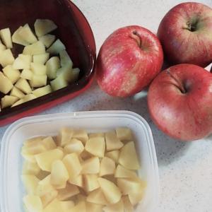 見切り品のリンゴ