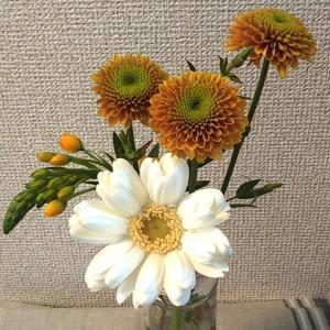 お花、届きました
