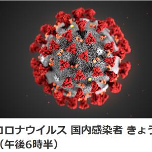 新型コロナウイルスの感染拡大 終息のメド立たない!